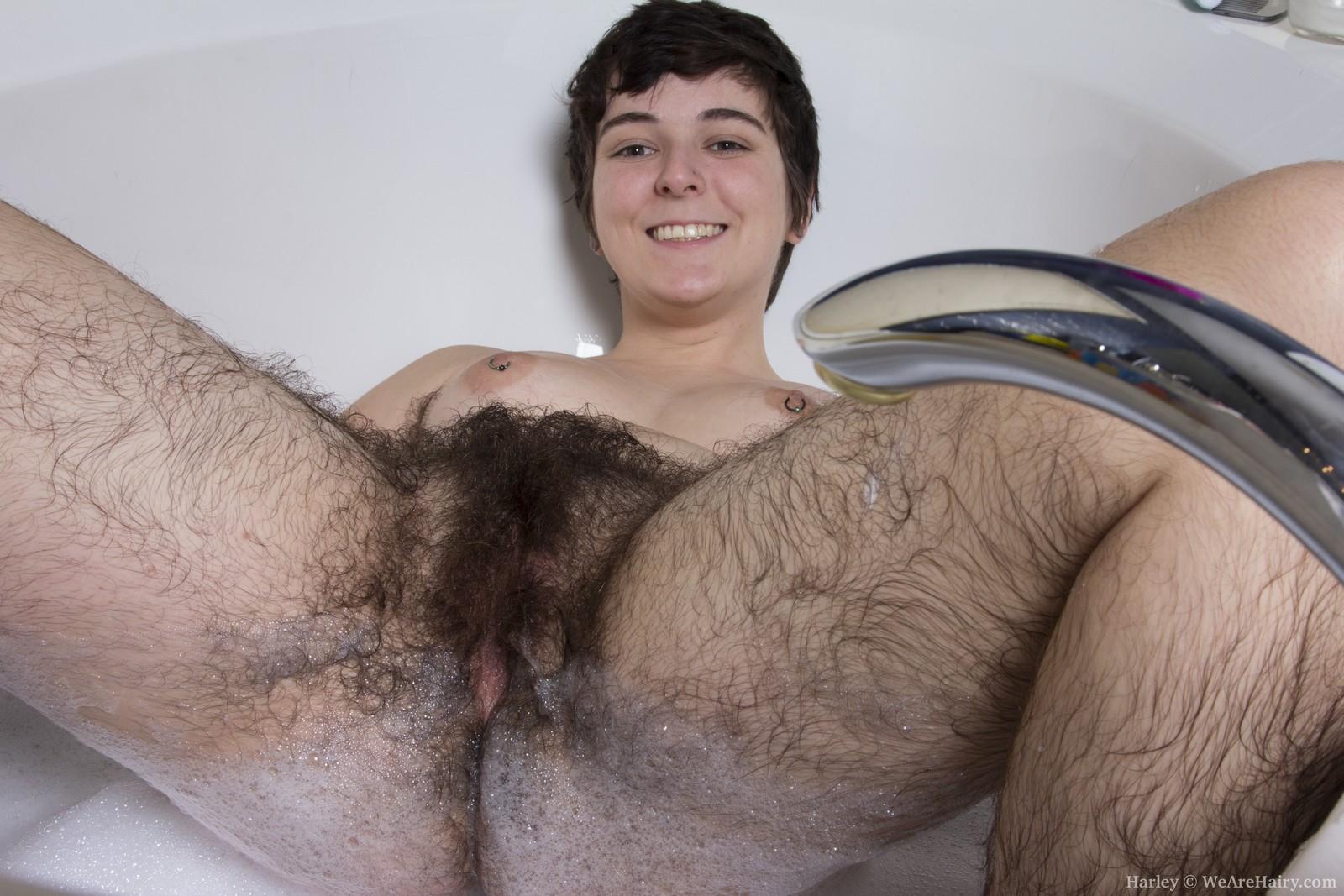 Extra hairy porn